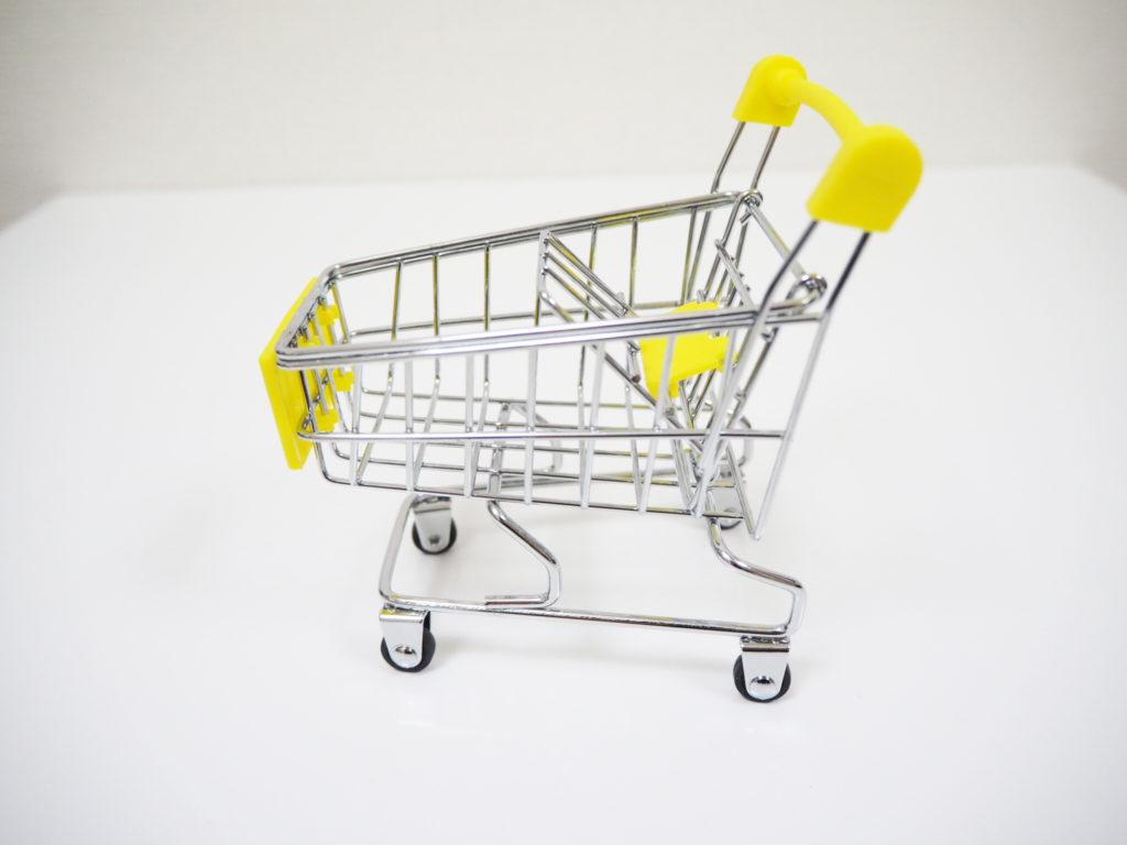 ショッピングカートのおもちゃ