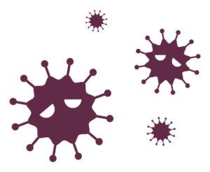 感染症のイラスト