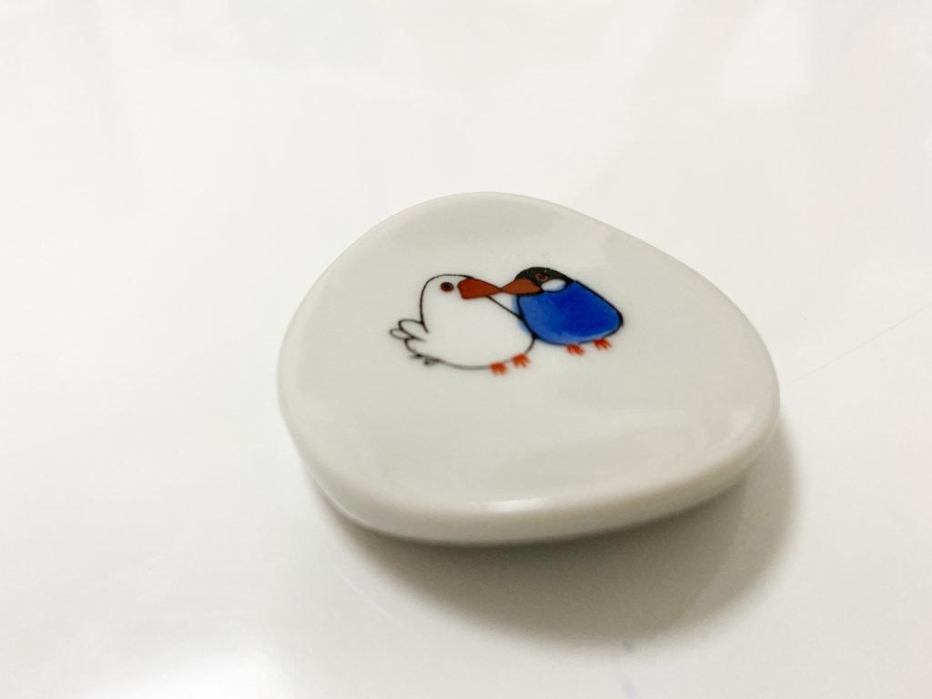 クタニシールの白文鳥と桜文鳥