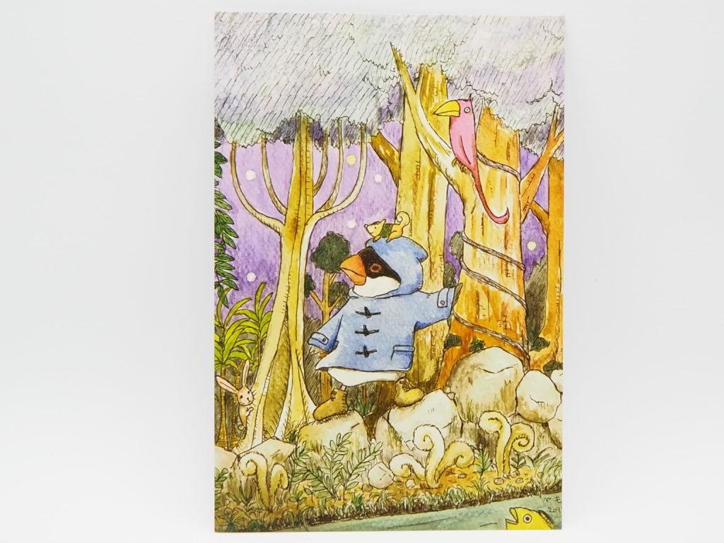 文鳥堂さんのポストカード