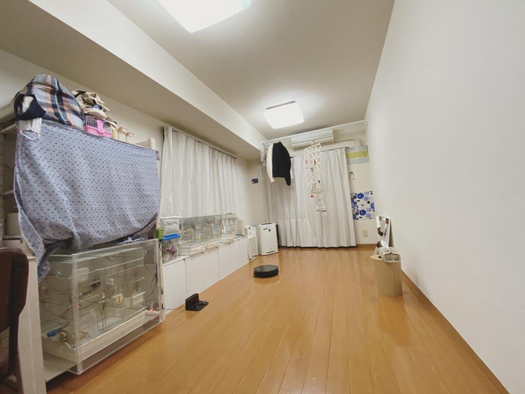 広くなった部屋