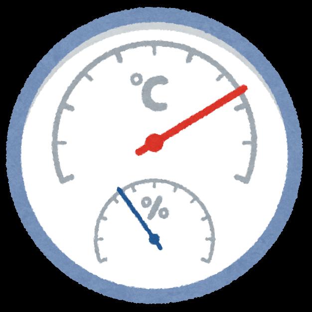 温度計のイラスト